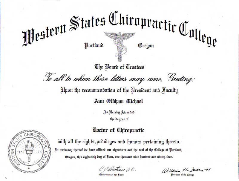 WSCC Certificate